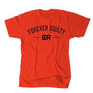 FOREVER GUILTY TEE RED