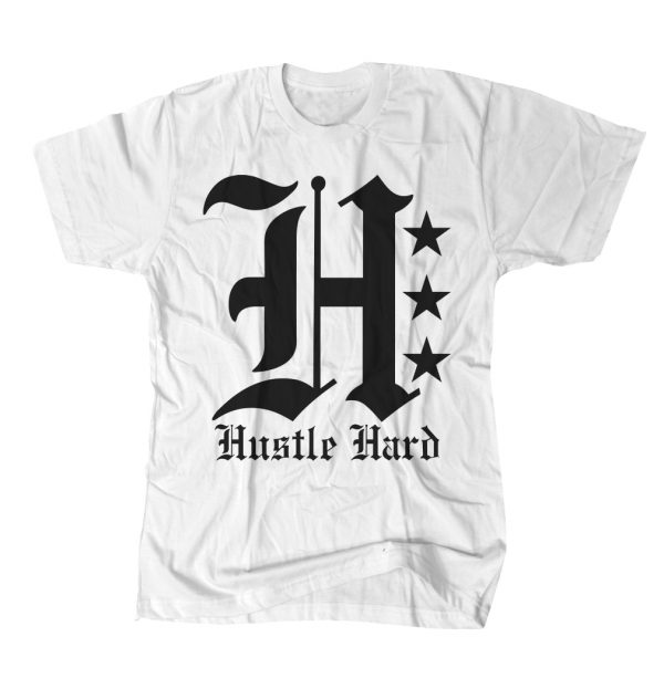 HUSTLIN HARDER TEE W