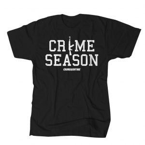 CRIME SEASON TEE BLACK