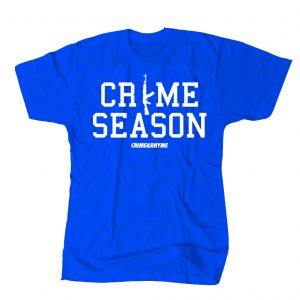 CRIME SEASON TEE BLUE