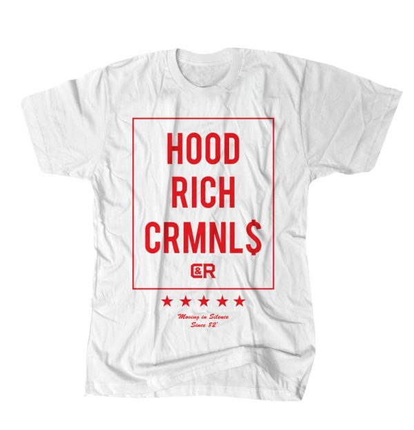 HOOD RICH RED