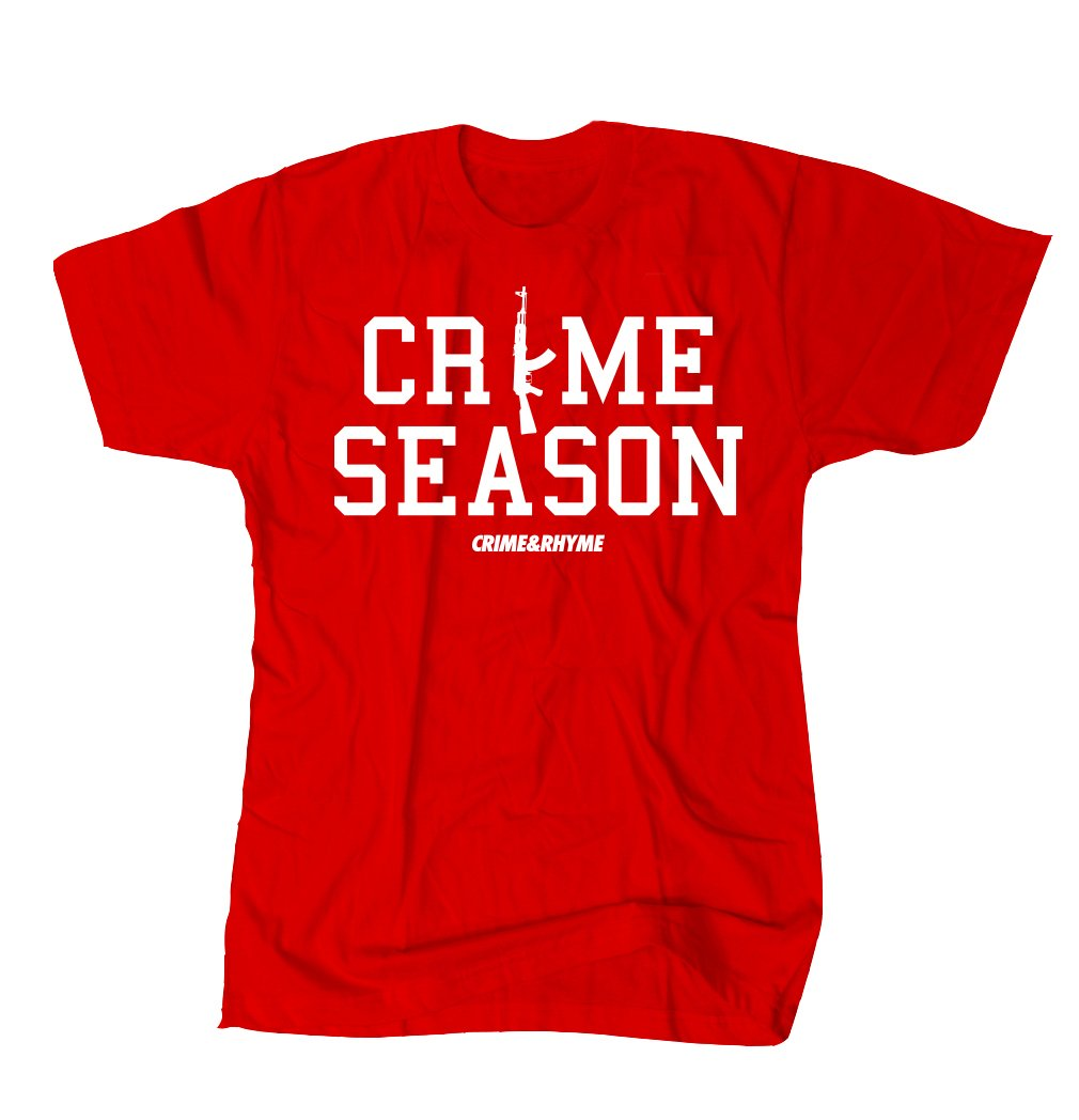 CRIME SEASON TEE RED