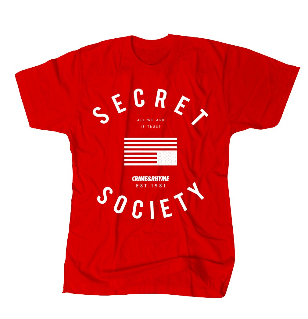 SOCIETY TEE RED