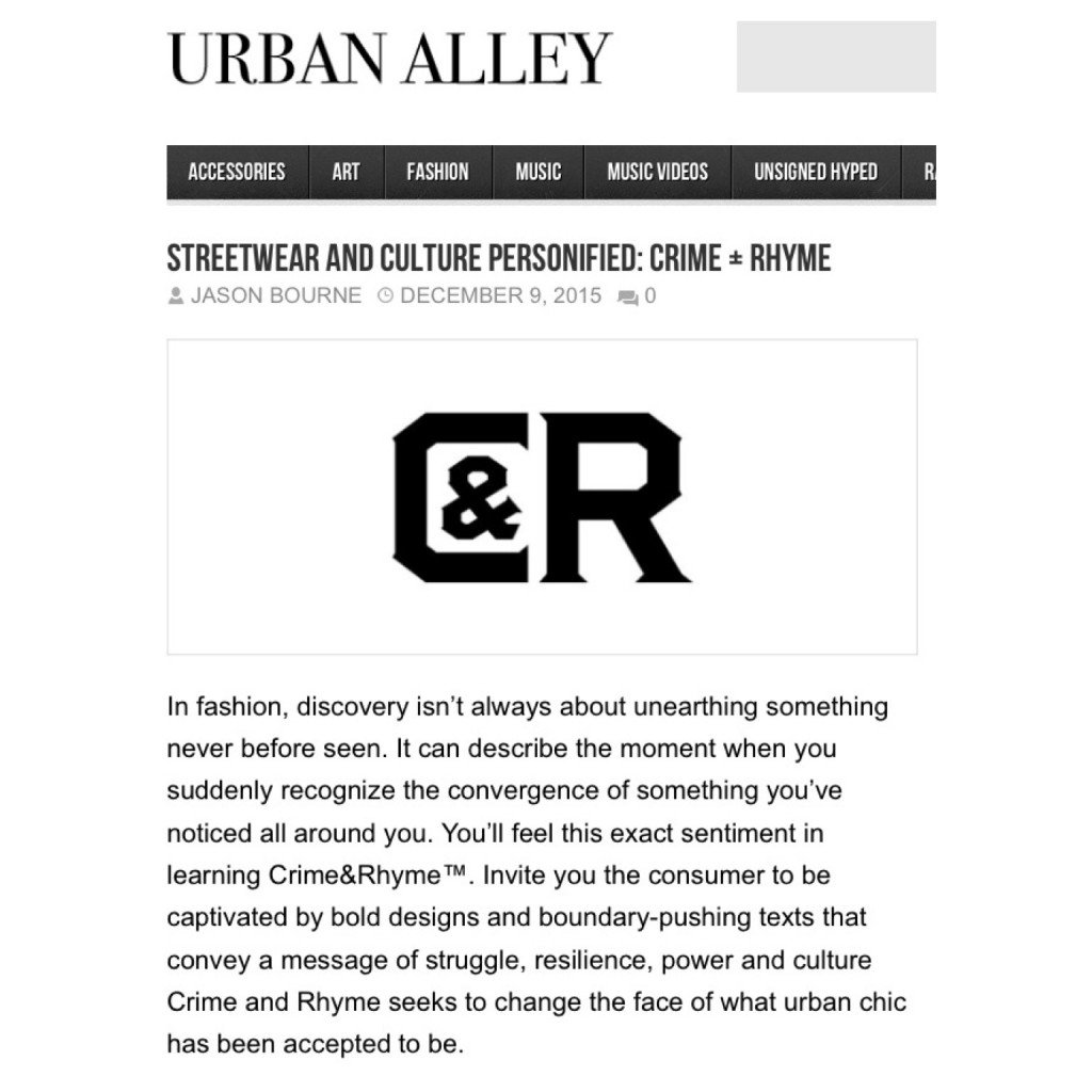 INTERVIEW: URBAN ALLEY